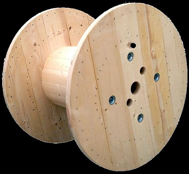 Bobina in legno - SR Legno